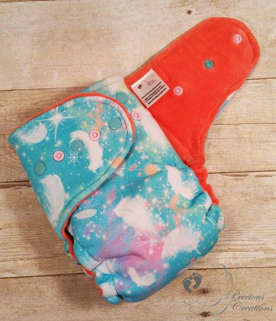 Hybrid Fitted Cloth Diaper Cloth Diaper One by LLPreciousCreations