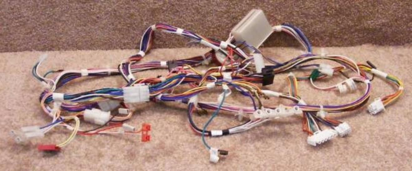 frigidaire washer wiring harness 134073400 pressure switch and light rh pinterest com