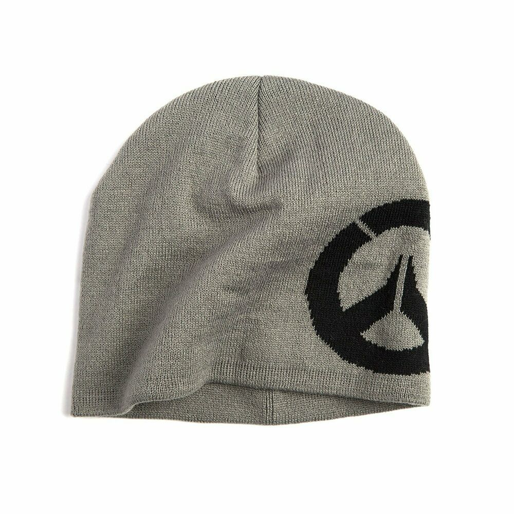 Authentic OVERWATCH Blocked Emroidered Logo Stretch Fit Hat Grey NEW