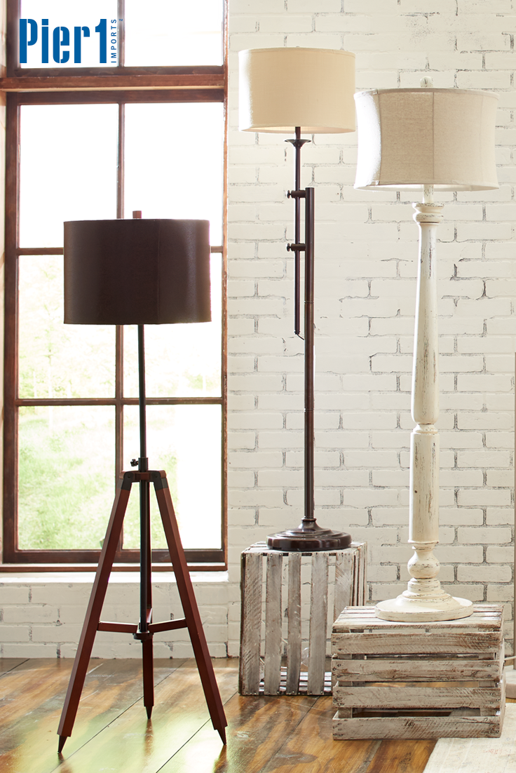 From Casual And Traditional To Sleek And Modern You Can Light The Way To Your Sense Of Style Contemporary Floor Lamps Floor Lamps Living Room White Floor Lamp