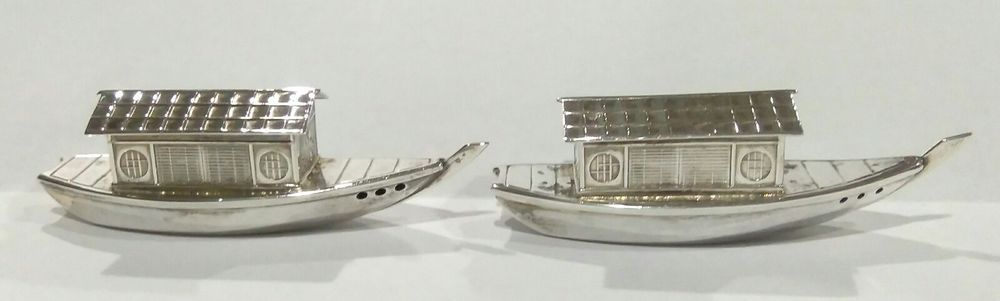 Sterling silver asian boat