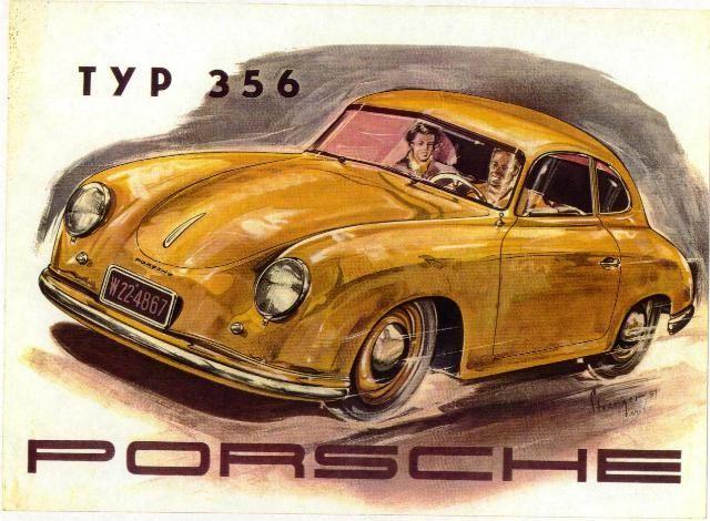 Porsche 356, el auto que definió nuestra firma durante los años 50.