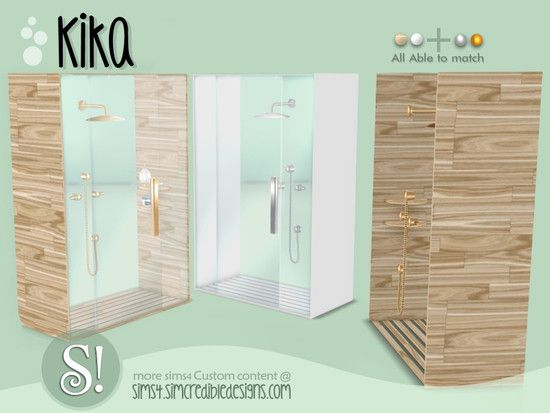Photo of by SIMcredibledesign… Found in TSR Category 'Sims 4 Showers & Tubs'