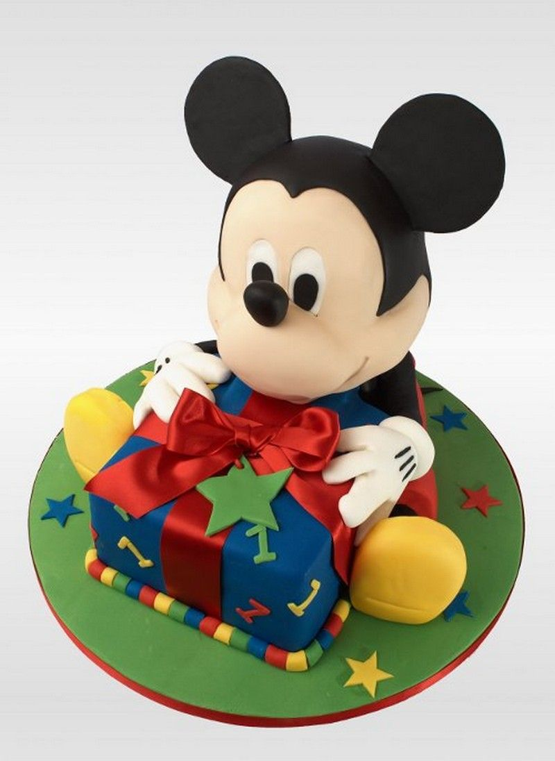Baby Mickey Mouse Cake Topper Figurines Best Bake Ideas - Mickey birthday cake ideas