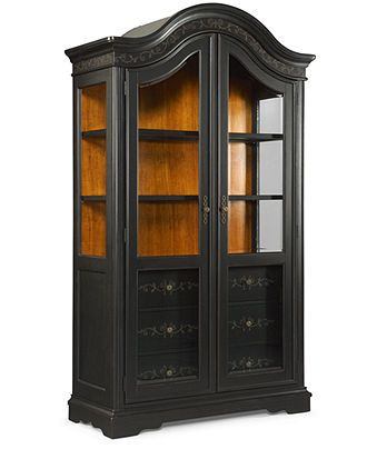 Hand Painted China Cabinet Dining Room Furniture