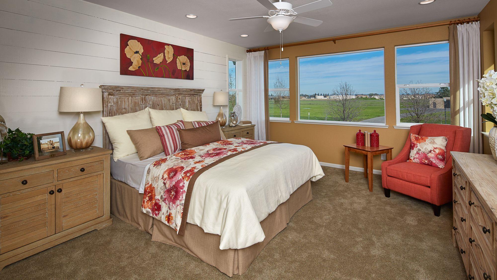 Marquesa - Plan 3 - Master Bedroom