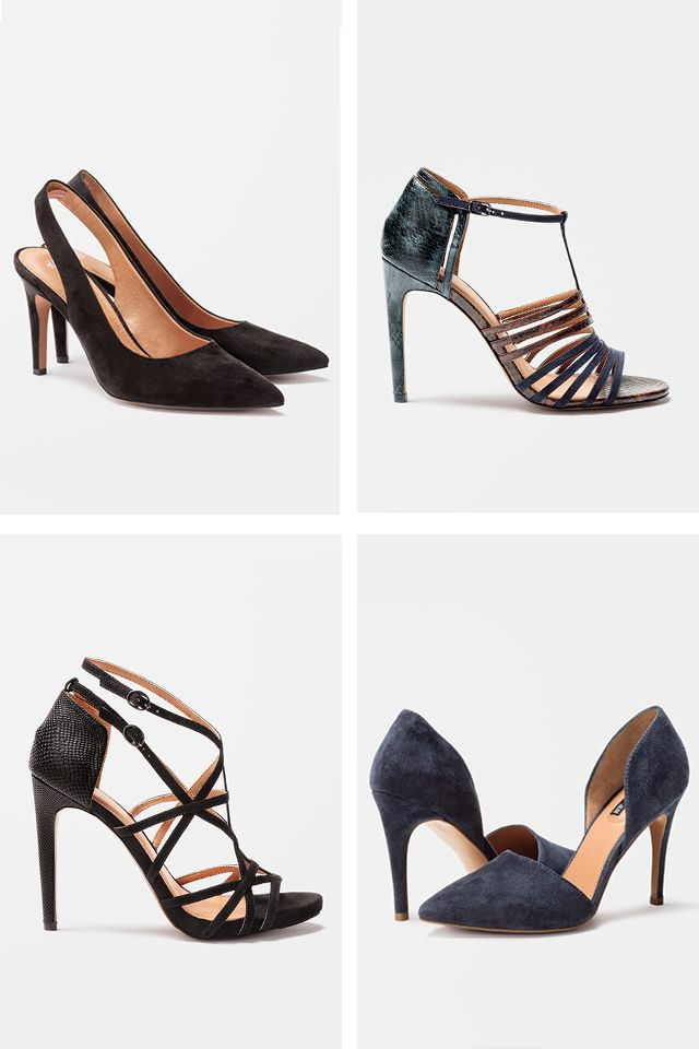 70c68c353678 Transform in strappy heels with rich premium-quality suede.