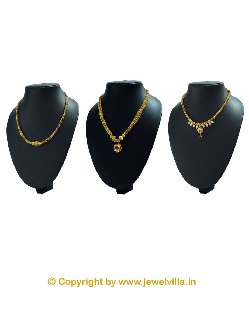 Diwali Combo 3 Necklace First Time in online market. | jewelvilla ...