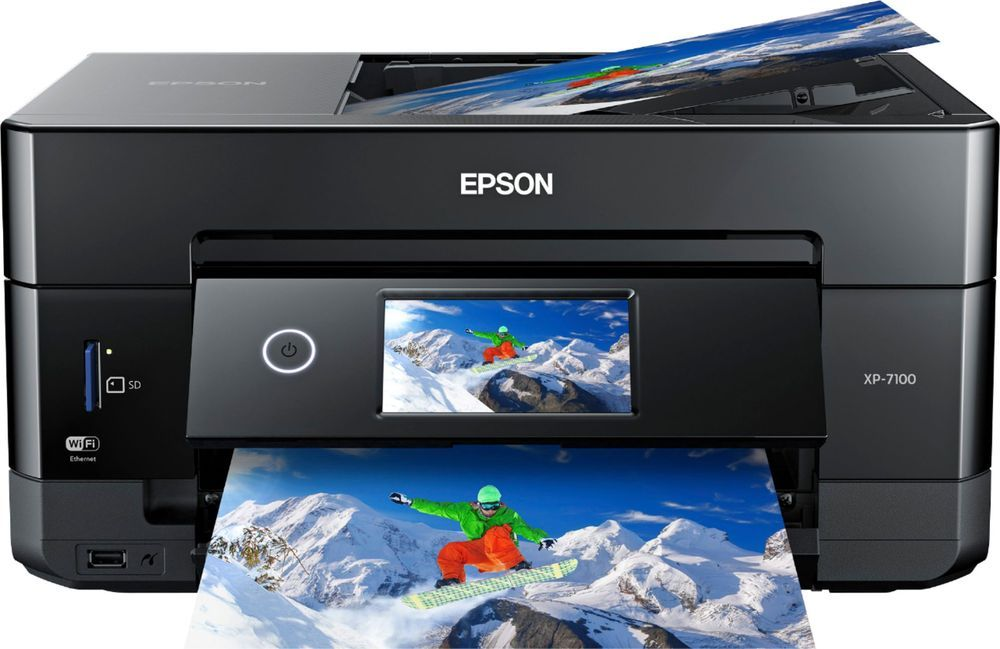 Epson Expression Premium Xp 7100 Wireless All In One Inkjet