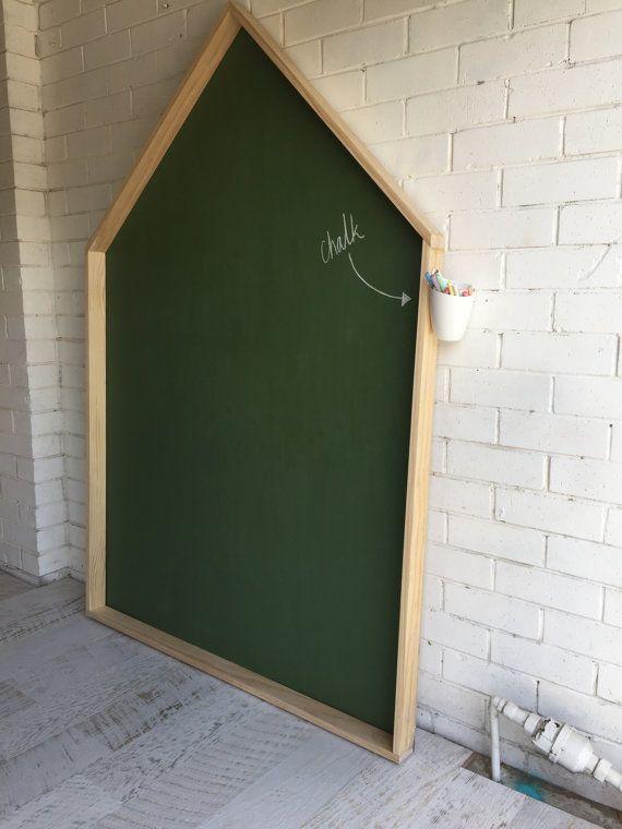 Giant House Chalkboard | Kinder | Kinder zimmer ...