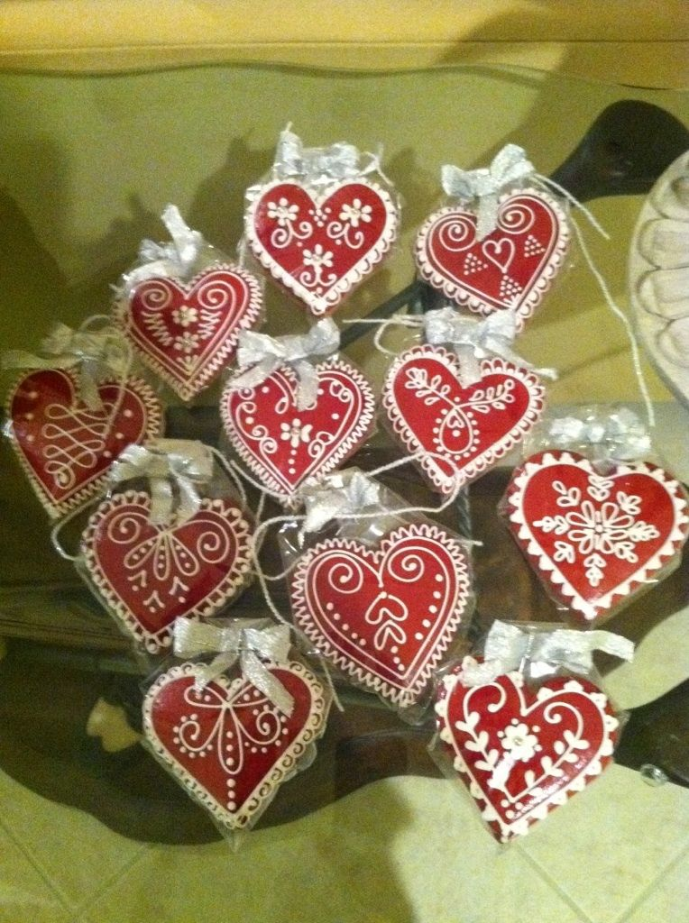 Hungarian Valentine S Day Treats Or Wedding Favors