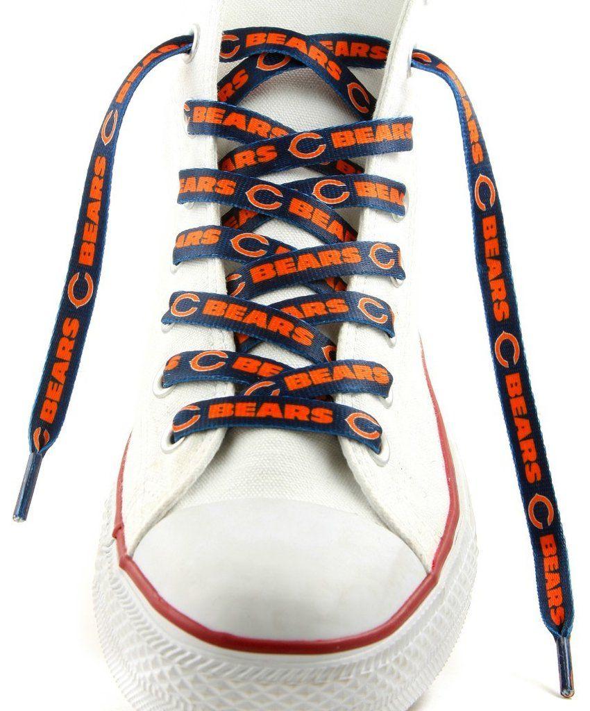 eb52b53ec98 Chicago Bears Shoe Laces 54 Inch