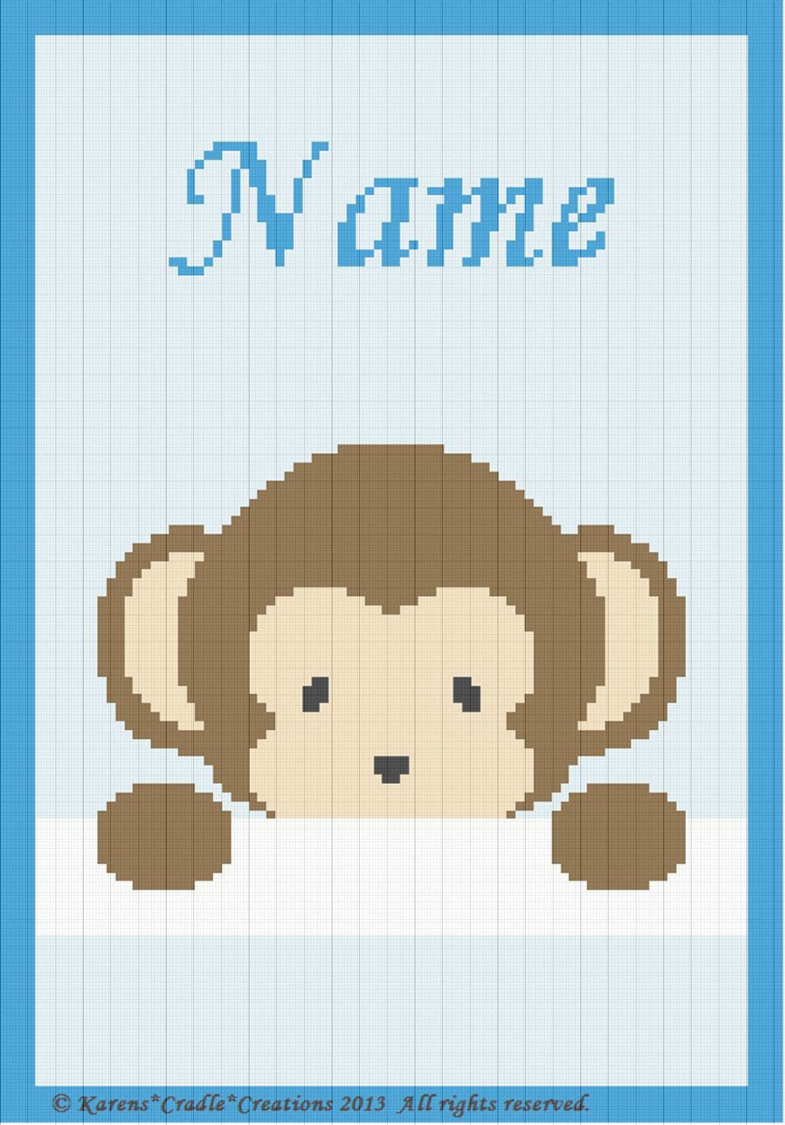 Photo of Crochet Patterns – PEEK-A-BOO  BABY BOY MONKEY – PERSONALIZED **BEGINNER PATTERN…