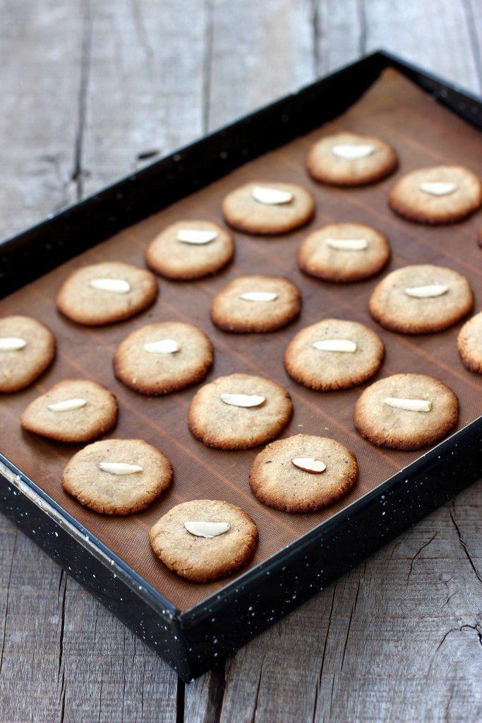 Grain-free Almond Cookies - Dish by Dish