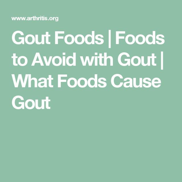 Gout Foods | Foods to Avoid with Gout | What Foods Cause Gout