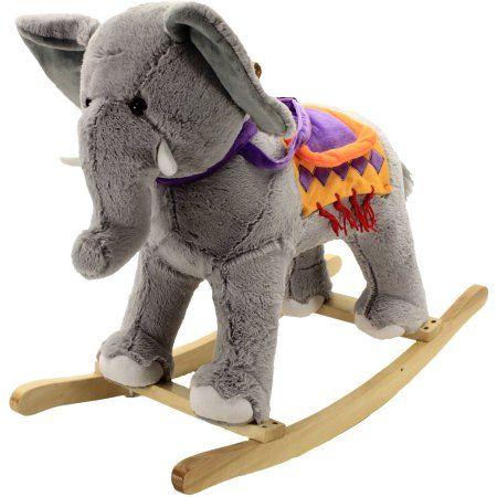 Elephant Circus Rocker | Rocking horse toy, Elephant, New ...