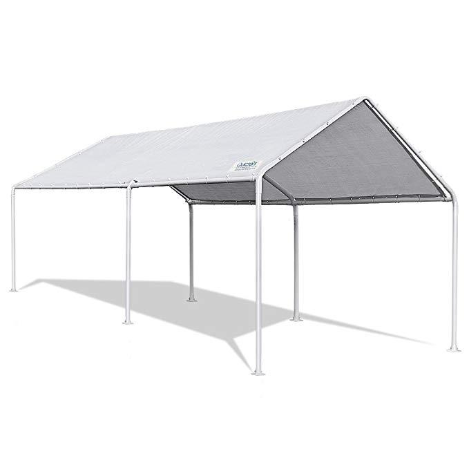 Amazon Com Quictent 10 X20 Upgraded Heavy Duty Carport Car Canopy Party Tent Boat Shelter Garden Outdoor Car Canopy Carport Canopy Gazebo Canopy