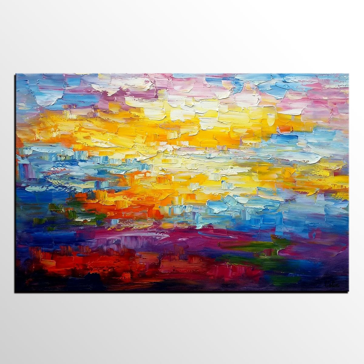 Oil Painting For Living Room Abstract Painting Oil Painting Living Room Wall Art Canvas Art