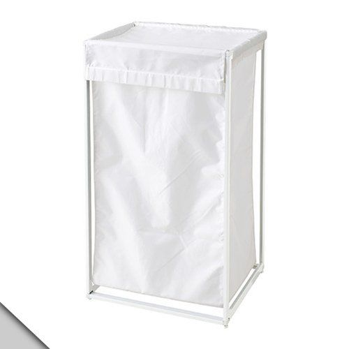 Småland Böna Ikea Antonius Laundry Bag With Stand Caster White By