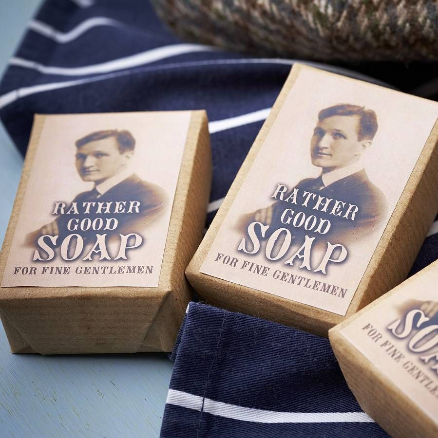 50 handmade soaps for men wedding favours by pippins gifts and