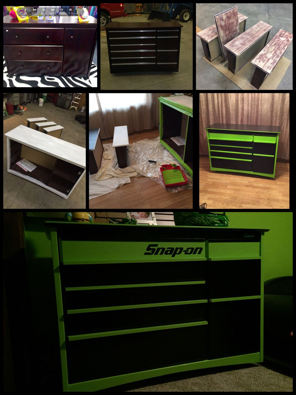 DIY Tool box dresser, perfect for a boys room | Tool box dresser ...