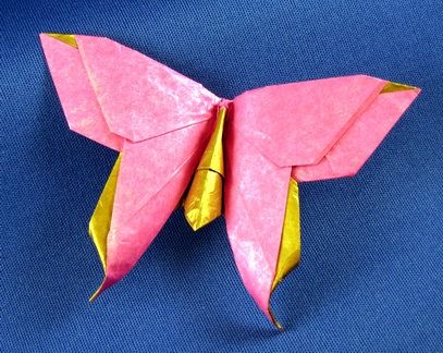 Easy Origami Butterfly | How to make a paper Butterfly? - YouTube ... | 324x407