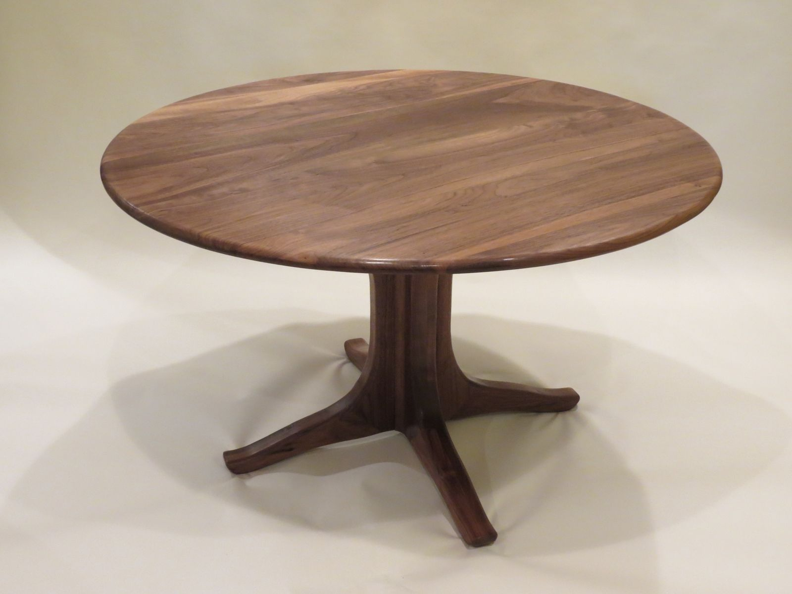 Walnut Pedestal Dining Table Furniture Pinterest