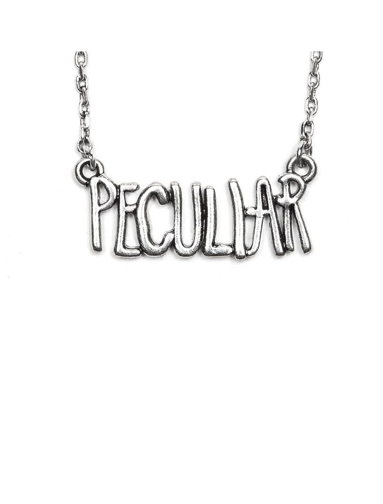 Miss Peregrine's Home for Peculiar Children necklace