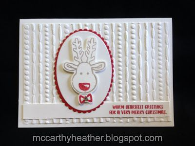 Stampin' Up! Cookie Cutter Christmas.