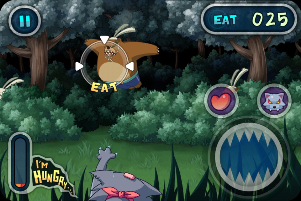 playpeep网站精选_Hungry Wolf (4) Game design, Game interface