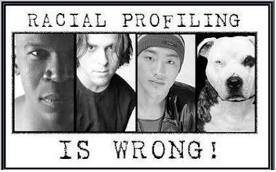 No racial profiling