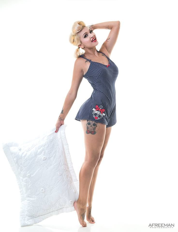 4cd732e3311 Hello Sailor Playsuit Model  Oh Lovely Miss T Photographer  Allen Freeman