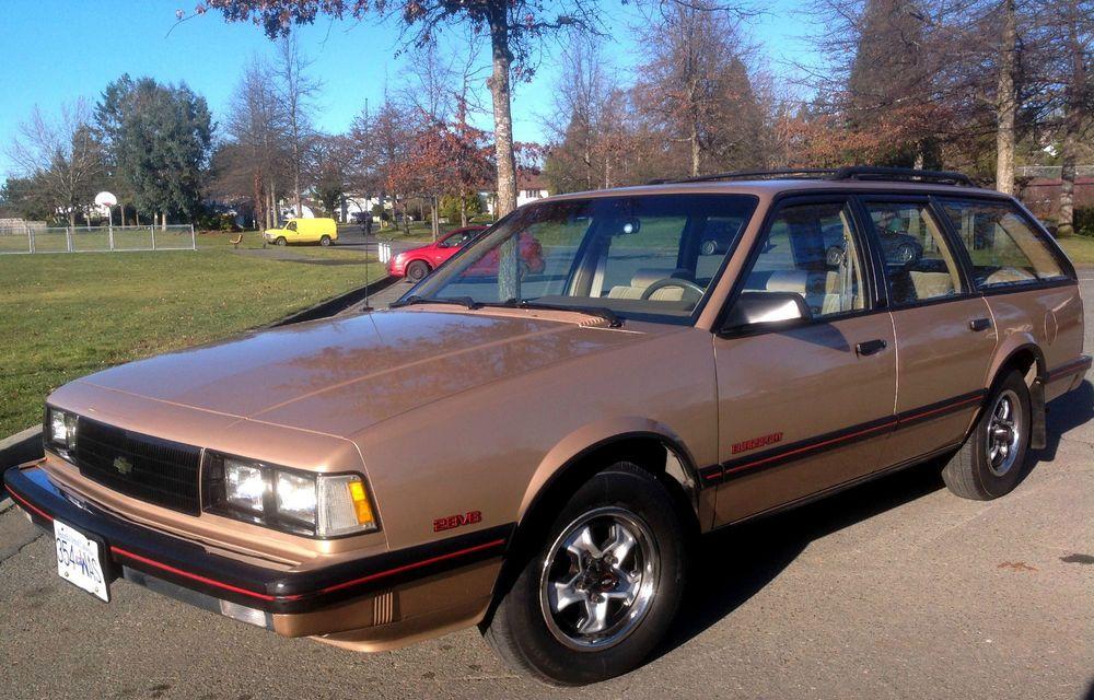 1986 Chevrolet Celebrity Eurosport Station Wagon