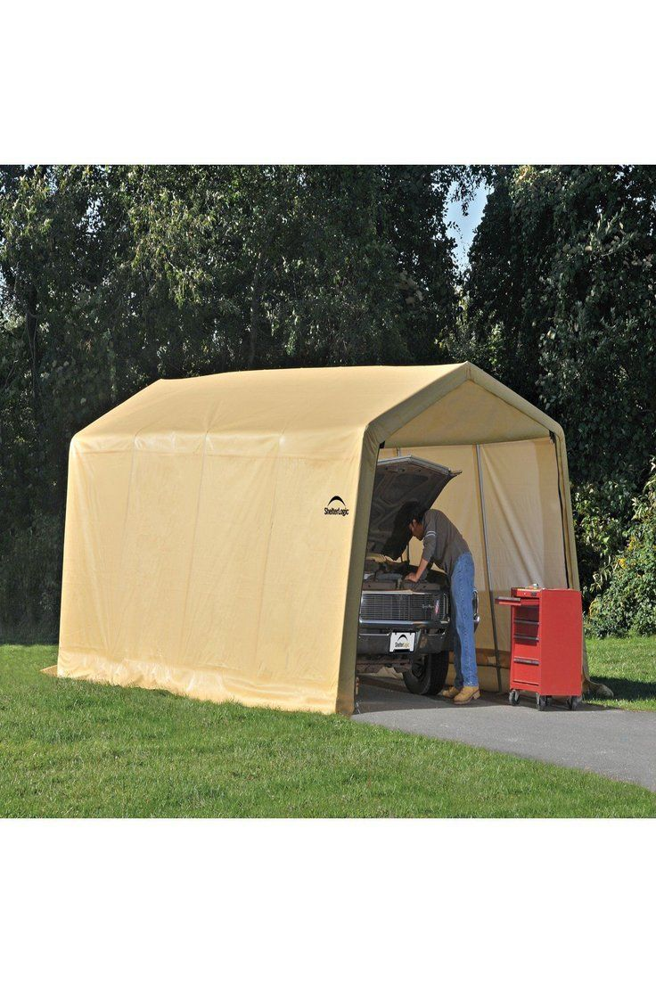 365.27 Auto Shelter 10' x 20 x8' Peak Style Instant