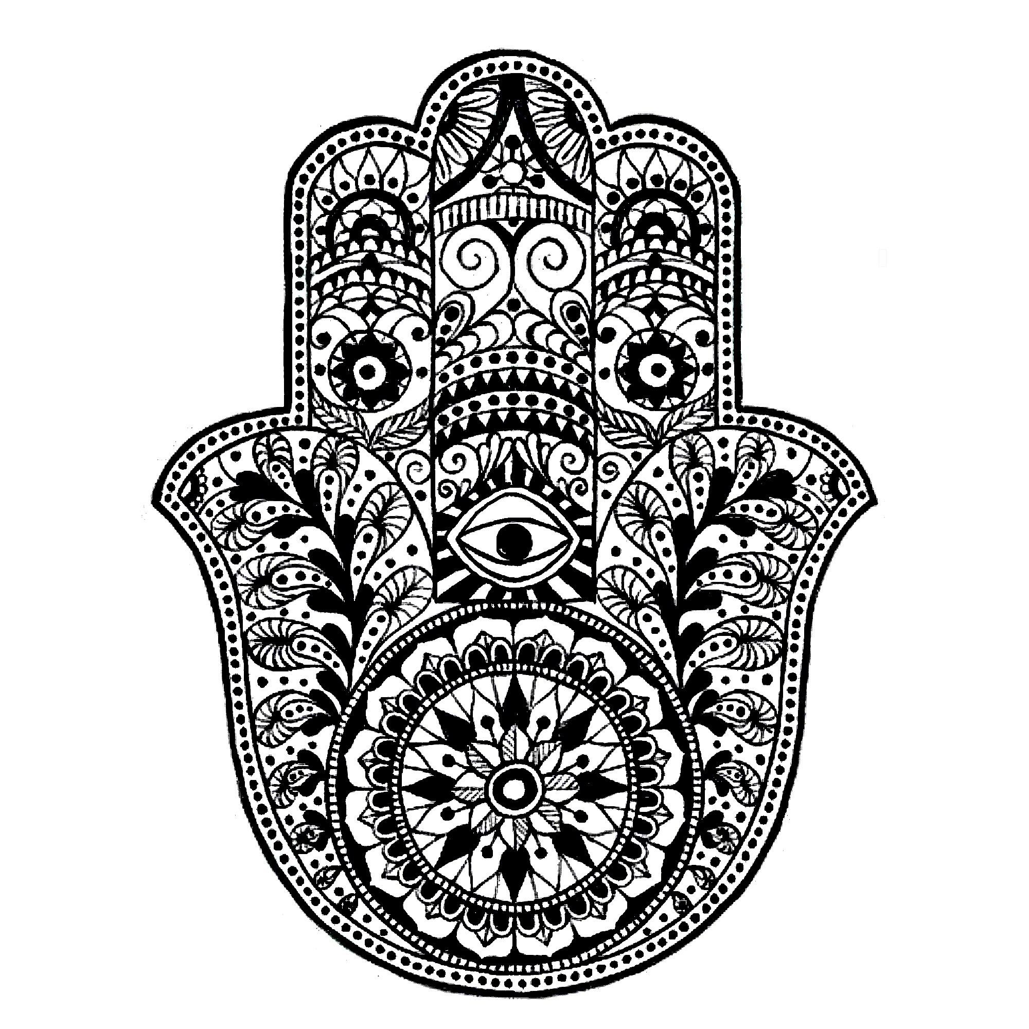 Hamsa IPhone Background Tattoo Hand Desktop