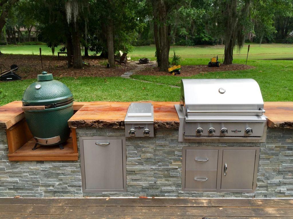 Outdoor Kitchen Blueprints | Jacksonville FL | All American Grill ...