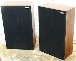Panasonic Thrusters Speakers Stereo Natioal Panasonic Thrusters Bookshelf Or Floor Hi Fi Stereo Speakers Vintage Speakers Stereo Speakers Hifi