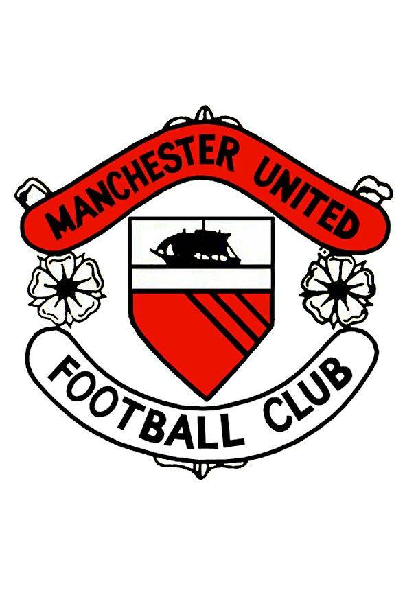 Man Utd Crest Manchester United Badge Manchester United Manchester United Club