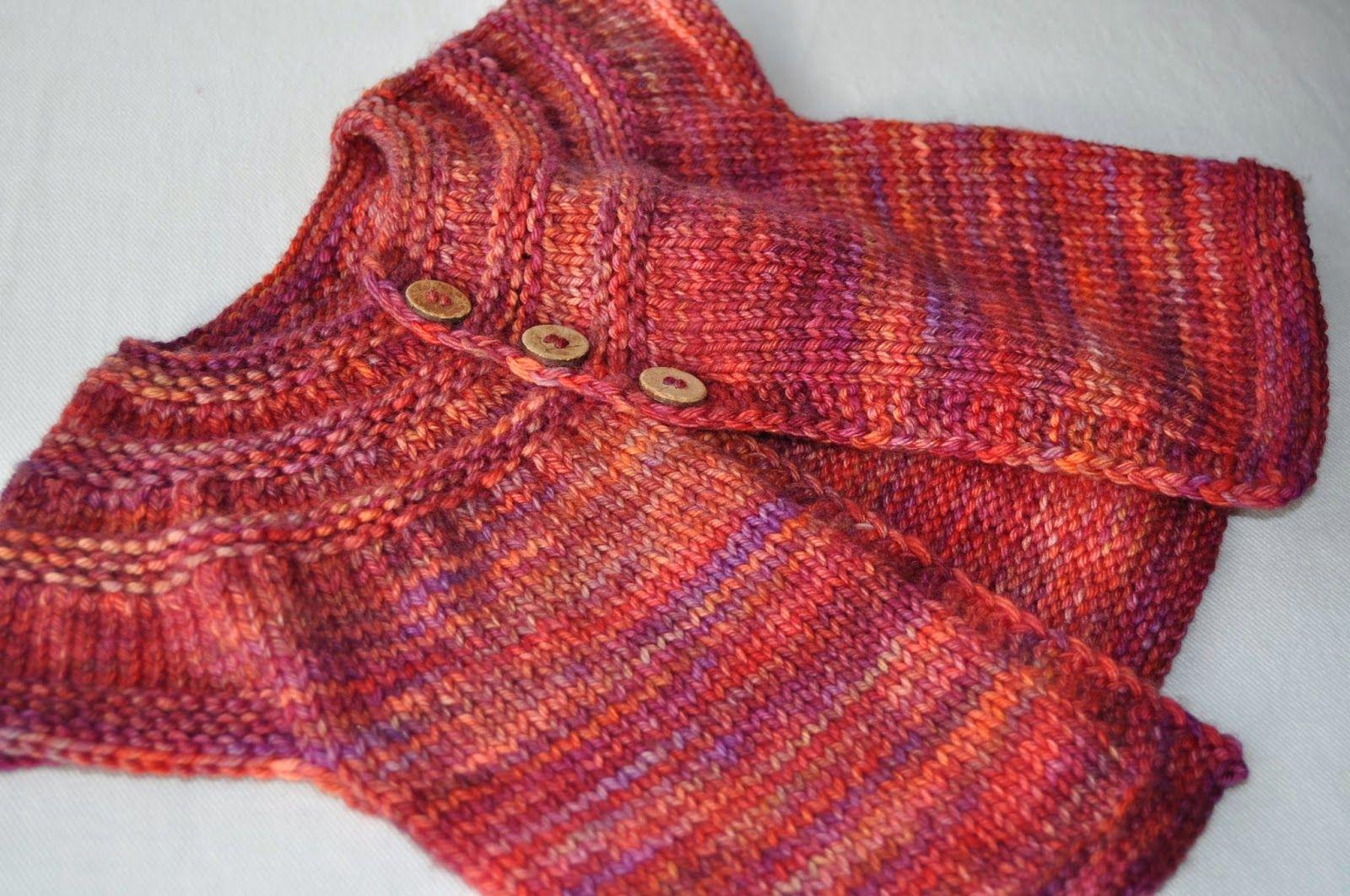Super Idee für Mädchen Strickjacke   Nähen   Pinterest   Strickjacke ...
