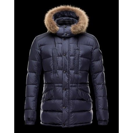 moncler jacket mens fur