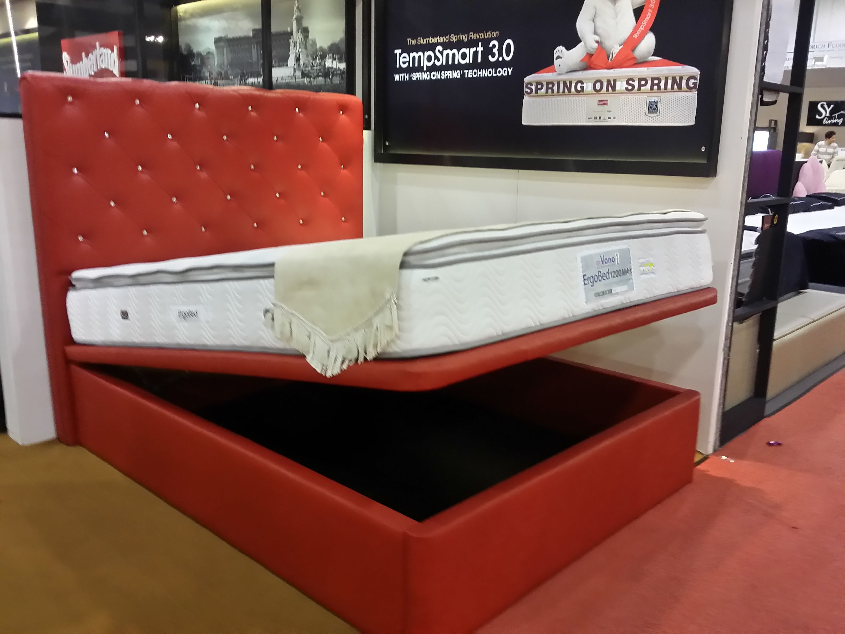 Storage Bed @ Slumberland | Expo Hall 6 | Booth B2 | THE HOME SHOW ...