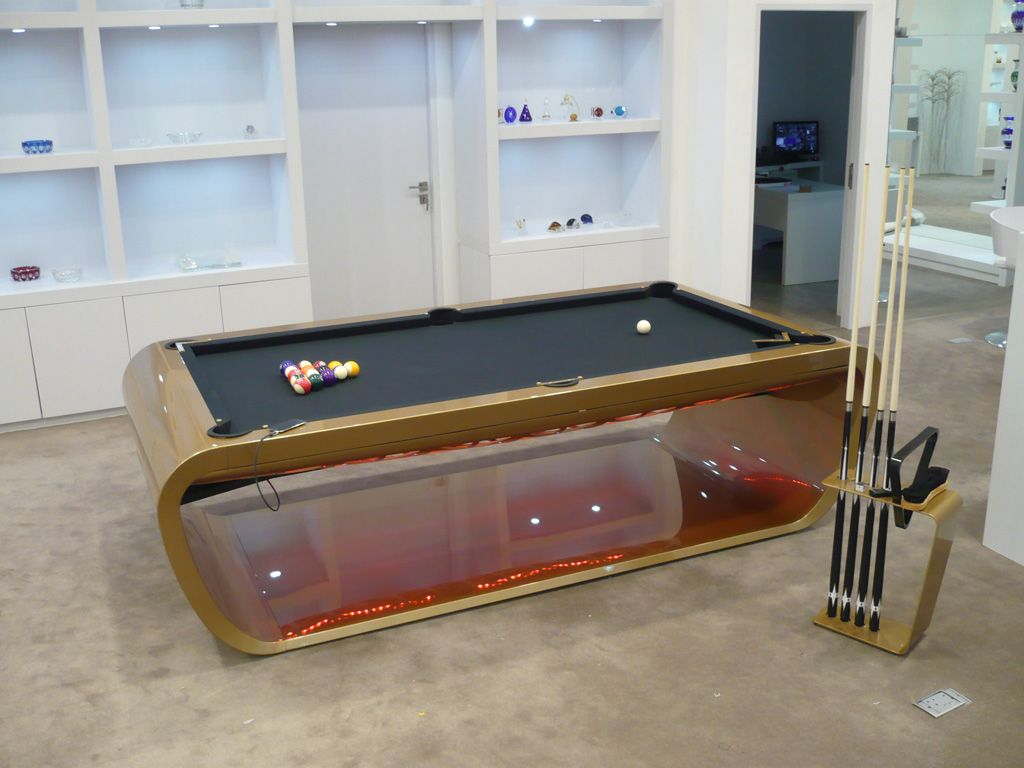 Blacklight Pool Table | Quantum Play   Designer Games