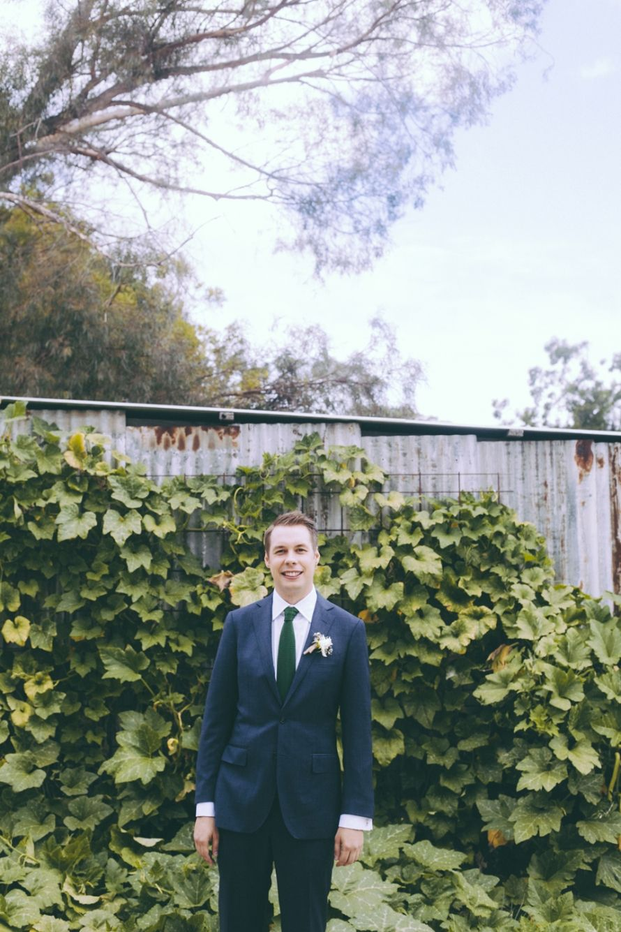 Emerald Green Tie With Navy Blue Suit I Got You Wedding Photography