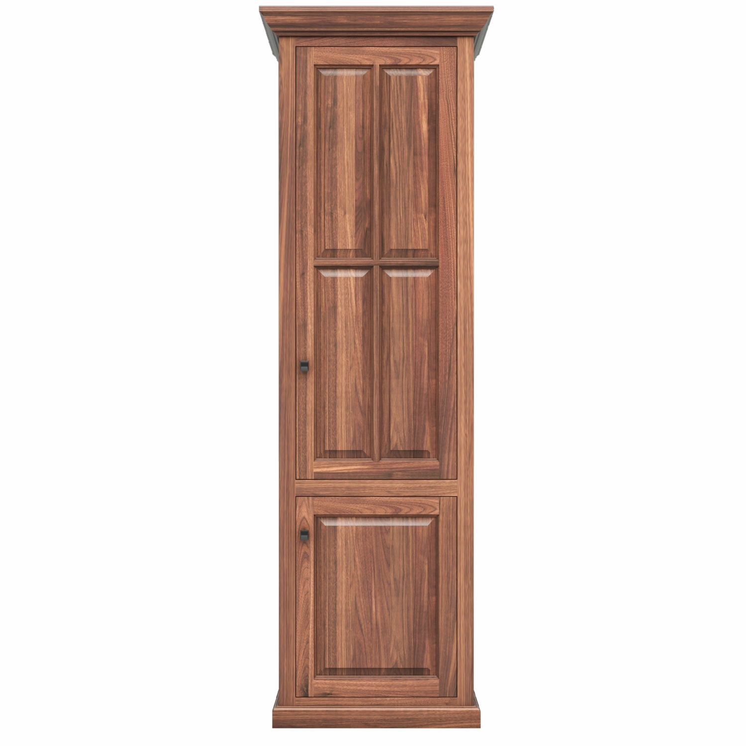 Woodley Brothers Furniture -  Coal Creek Home Office 24 Bookcase - Shown with wood doors also available with glass doors