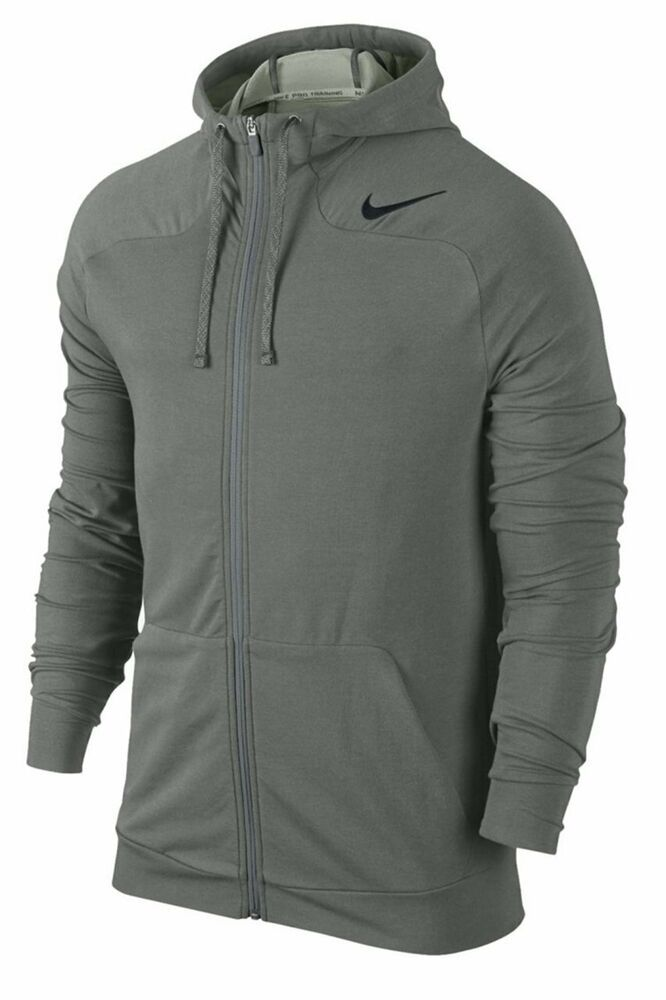 67234f107f46 NIKE MEN S DRI FIT TOUCH FLEECE FULL ZIP HOODIE NEW 644293 037 SIZE LARGE   Nike  Hoodie