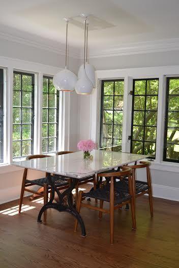 Before After Kitchen Remodel Black Window Frames Interior
