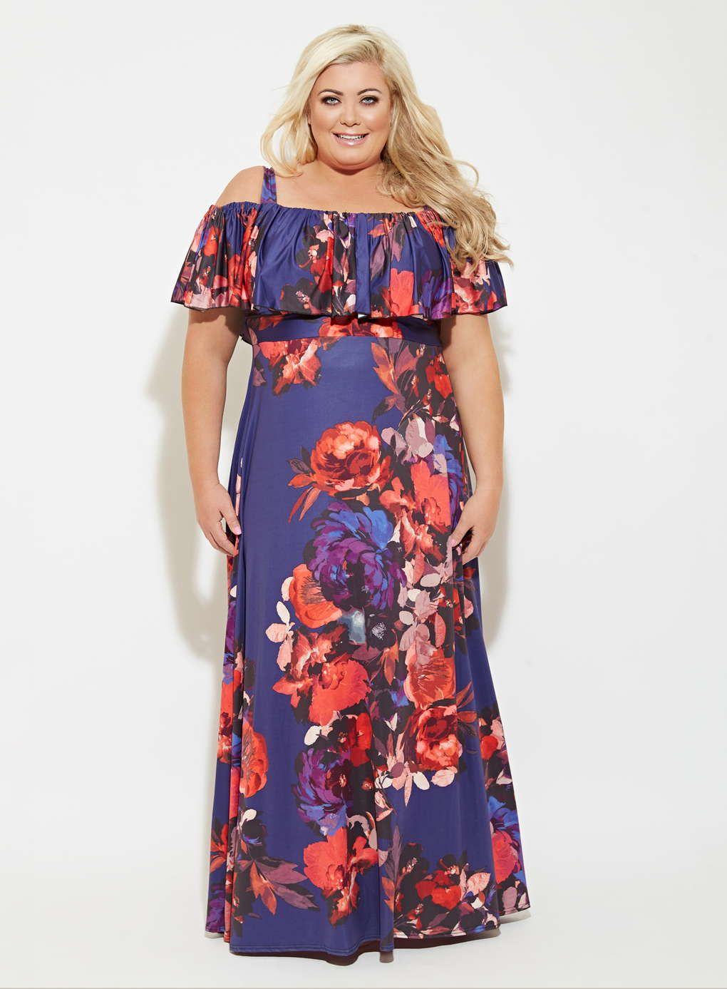 the cheapest lowest discount entire collection Gemma Collins Purple Positano Maxi Dress | Maxi dress, Dresses ...