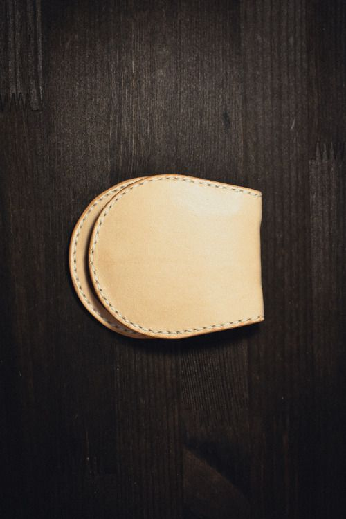 http://chicerman.com  northwardhandcraft:  Handmade Leather coin purse  #accessories