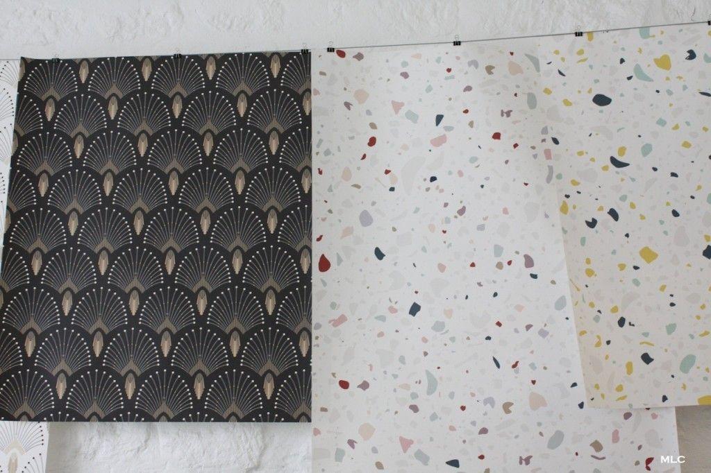 papier peint adhésif prêt à poser de PaperMint * Le Blog déco MLC - Poser Papier A Peindre