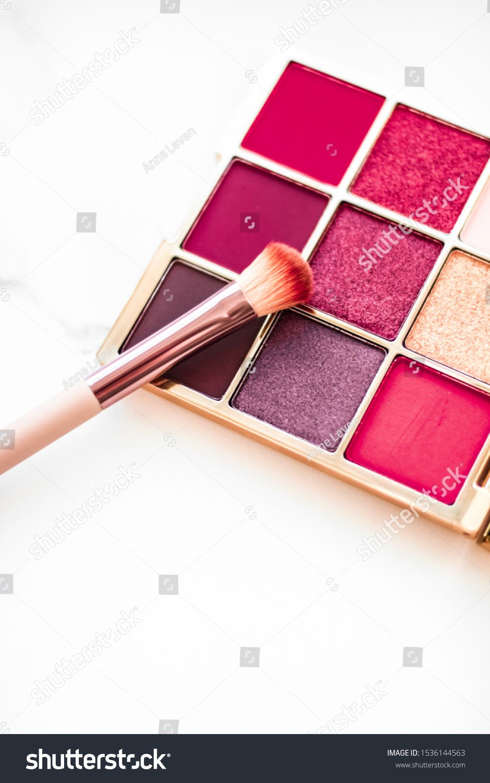 Cosmetic branding, fashion blog and glamour set concept
